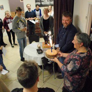 Lavern's birthday celebration